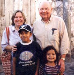 Bill Cherry and Ann Cameron in Guatemala